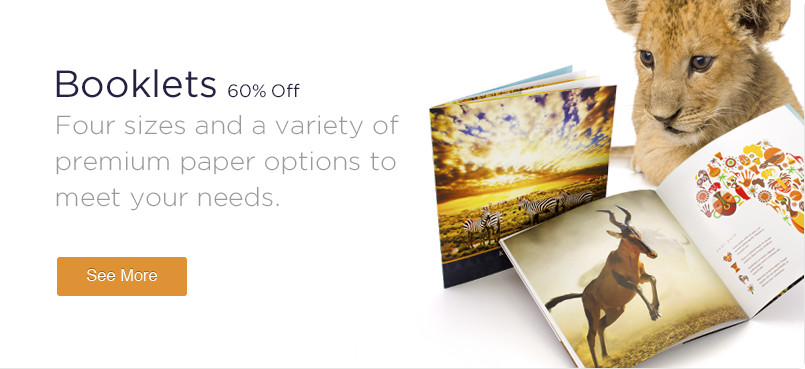20% Off Booklets Printing