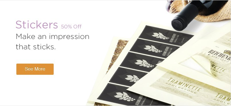 60% Off Stickers Printing