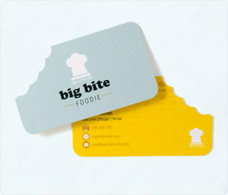 Die-Cut Business Cards Printing