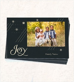60% Off Flat Holiday Cards Printing