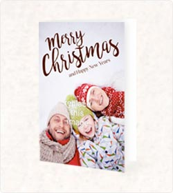 60% Off Folded Holiday Cards Printing