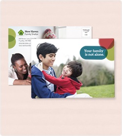 Nonprofit Mailing Postcards 50% Off