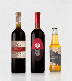 60% Off Wine Bottle Labels Printing