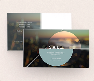 Design Templates for Postcard