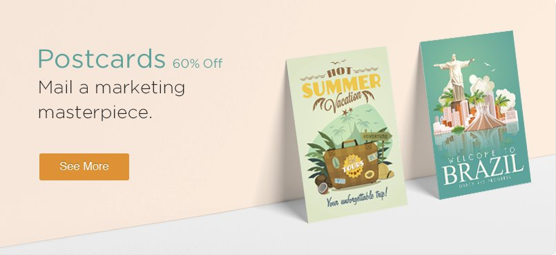 Postcards 60% Off