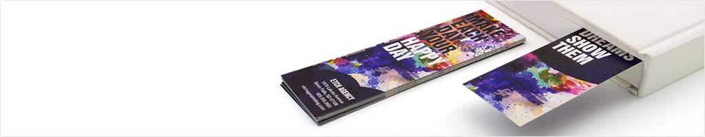 bookmark printing print color custom bookmarks online psprint