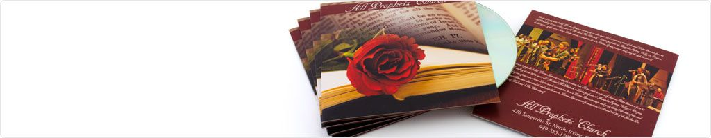 CD / DVD Sleeves Printing