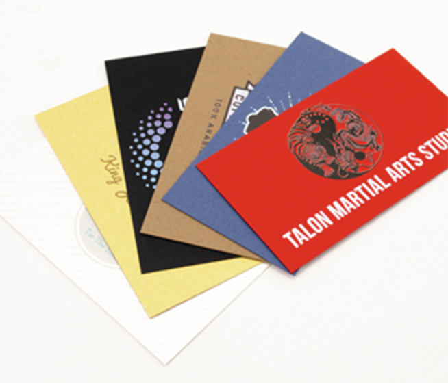 Colored Paper Business Cards 60% Off