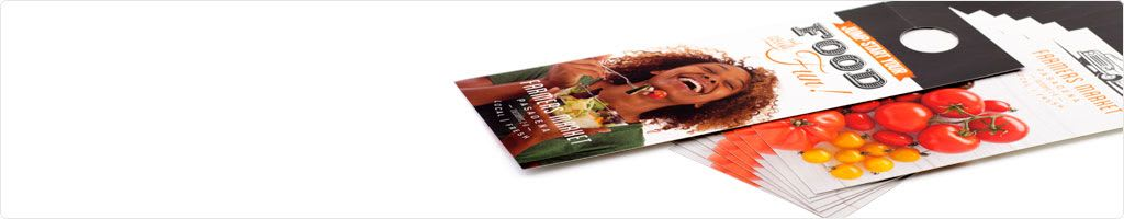 Print Door Hangers  Save On Door Hanger Printing  Psprint