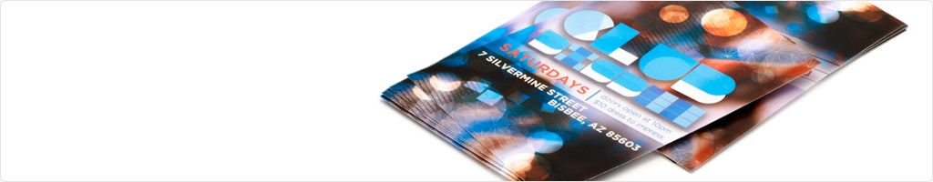 Event & Club Flyers Printing