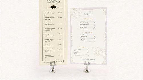 print full color custom menus premium menus at psprint