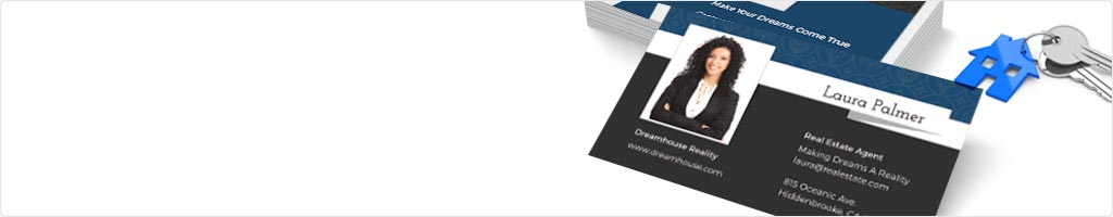 60% Off Real Estate Business Cards Printing