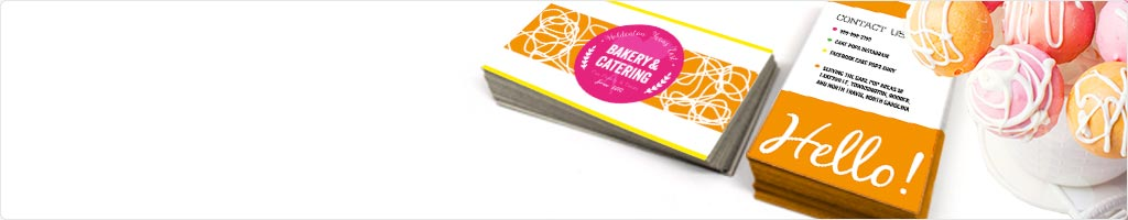 60% Off Restaurant & Food Business Card Printing