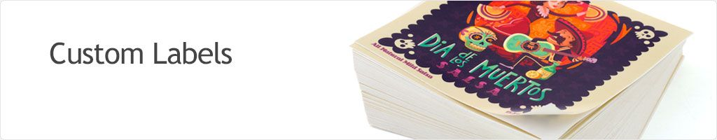 65% Off Custom Labels Printing