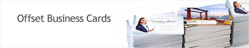 50% Off Offset Business Cards Printing
