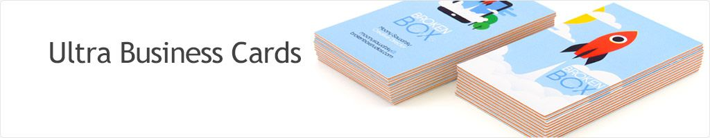 60% Off Ultra Business Cards Printing