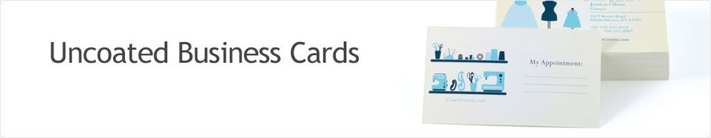 60% Off Uncoated Business Cards Printing