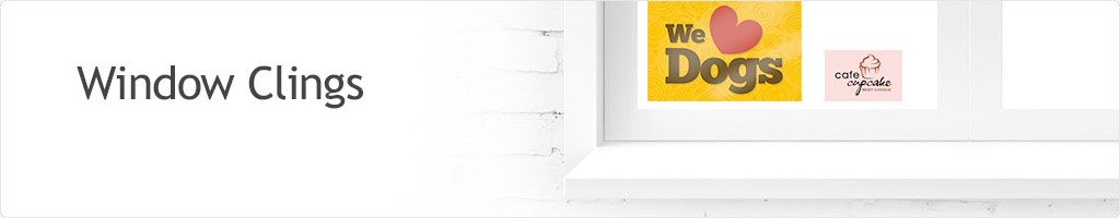 65% Off Window Clings Printing