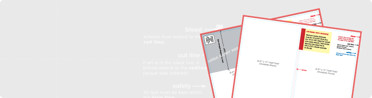 PsPrint Hang tags Layout Guidelines Templates