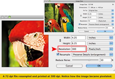 Resolution, Print Ready Check List - Help Center at - Custom