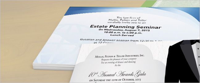 Best business invitation wording examples accmission Images