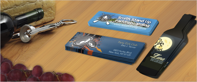 Creative Design Ideas for Slim Business Cards