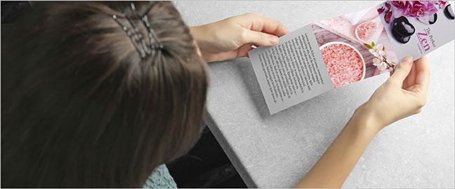 Creative Brochure Design Accents