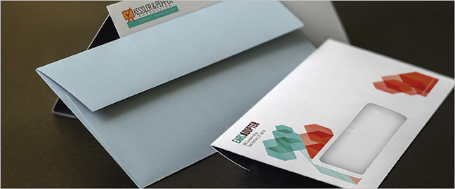 how to design business envelopes that get opened