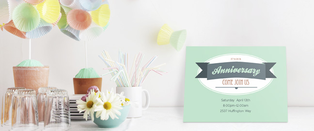 make your own party invitations quick and easy