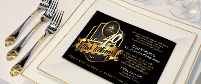 Retirement Party Invitation Wording Ideas