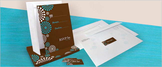 Design and print your own rsvp labels