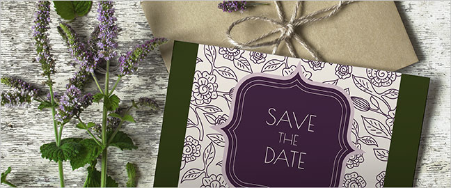 Send Save-The-Date Business Cards For Your Celebration