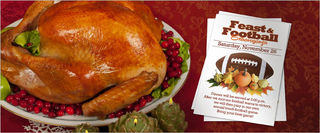 Thanksgiving Wording for Invitations