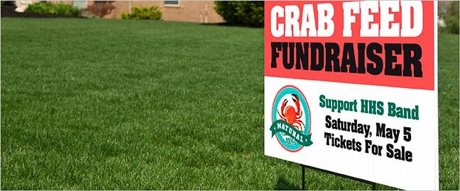 Exceptional Yard Sign Design Ideas