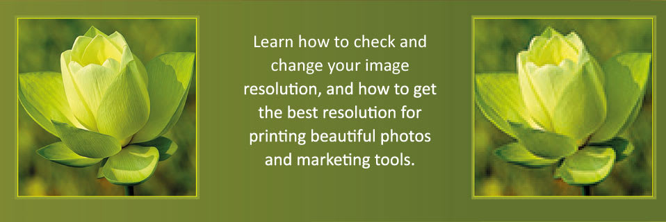 How To Check Your Image Resolution