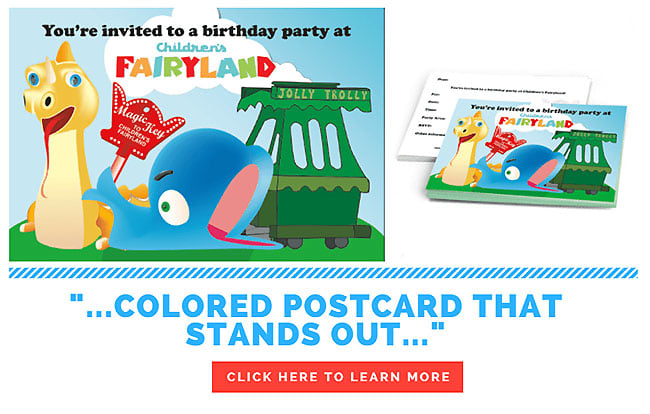 Color Postcard Printing