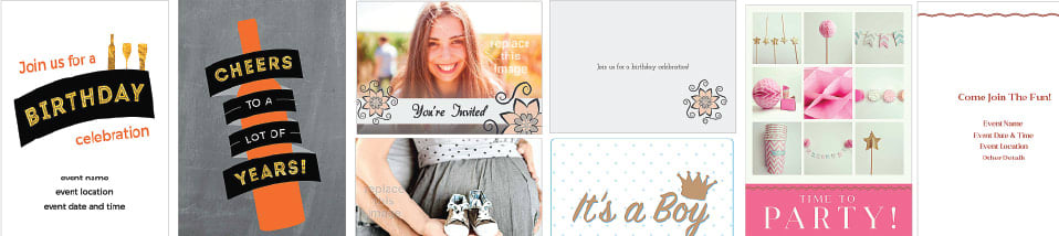Customize Your Invitation Wording Photos Fonts And More